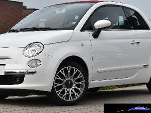 Fiat 500C 1.2i Lounge**CABRIO*AUTOMATIQUE**206€ PAR MOIS